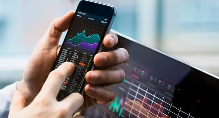Two Six Technologies Stock data on mobile device